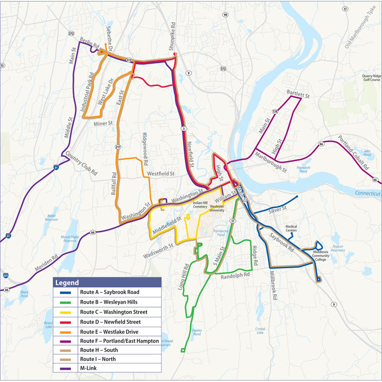 Middletown Area Transit Middletown Ct Transit Mat